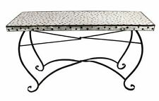 Patio Rectangular Dining Table Vintage Design Outdoor Furniture Garden Pool NEW