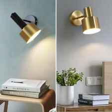Bedroom Wall Lamp Home Gold Wall Sconce Modern Wall Light Indoor Black Lighting