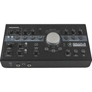 Mackie Big Knob Studio Plus 24 Bit Portable Analogue Out USB Audio Interface