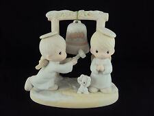 Precious Moments, 525898, Ring Those Christmas Bells, Issued 1992, Retired 1996
