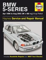BMW 5 Series 520 528 530 E39 96-03 Haynes Manual 4151