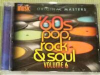 MY MUSIC '60S POP, ROCK & SOUL VOLUME 6 (15 TRACK CD) FREE SHIPPING