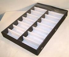 Portable Sunglass Clear Cover 16 Pair Display Tray Eyeglass Counter Table Holder