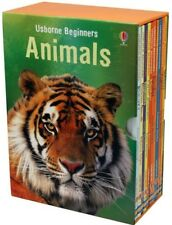 Usborne My First Animal Library 10 Books Collection Educational Learning Set