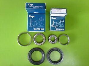 Daewoo Nubira 98-02 Rear Wheel Bearings Set + Seals 6PCS