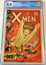 X-Men #28 01/67 CGC 5.5 ow/w pgs (1st appearance of the Banshee)