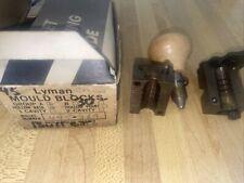 Lyman 445369 Three Piece Single Cavity Lead Bullet Casting Mould