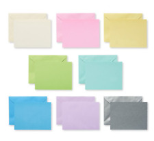 American Greetings Single Panel Blank Cards with Envelopes, Pastel 100-Count -