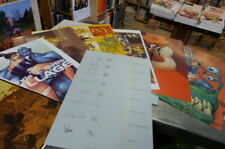 Portfolio Sillage Poukram, signé Tarquin, Yoann, Wendling, etc 8 planches