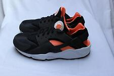 Nike Air Huarache - Black / Total Orange - Anthracite - UK 11