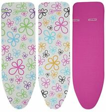 Leifheit Cotton Classic Universal Ironing Board Cover, Assorted, 140 x 45 cm