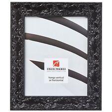Craig Frames Renaissance, 1.75 Inch Traditional Black Hardwood Picture Frame