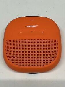 Bose SoundLink Micro Waterproof Portable Wireless Bluetooth Orange Speaker