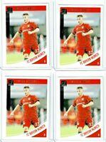 2018-19 Panini Donruss Soccer Joshua Kimmich (Bayern Munich) Base Lot of 4 Cards