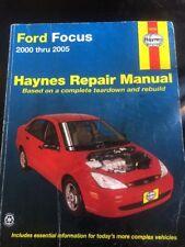 Haynes 36034 Ford Focus 2000 Thru 2005 Repair Manual