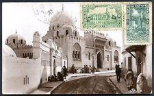 FRANCE ALGERIA TO ARGENTINA Circulated Postcard 1937, RARE DESTINATION!
