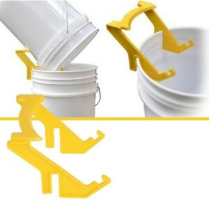 Eimerhalter Halterung für Kälbereimer und Ringhalterung Stahl Ø31cm schüssel