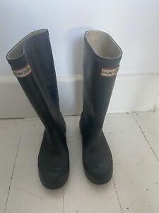 Ladies Hunter Wellies size 4