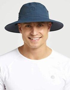 Solbari Sun Protection UPF50+ UV Protective Men's Traveller Broad Brim Sun Hat
