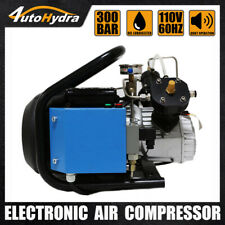 High Pressure Air Compressor 4500psi30mpa Pcp Airgun Filling Air Tank Station