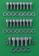 SB FORD 289-302 / 351W oil sump cap head  stainless steel bolt kit