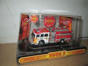 Code 3 2002 L.A. Sutphen Pumper w/ flames No  E 2  #12273