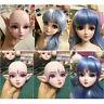 1/3 BJD Female Doll Plastic Head Sculpt with Elf Ears DIY Parts Kits