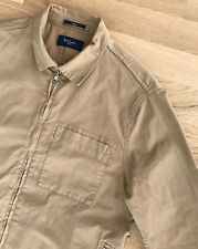 PAUL SMITH DESERT BROWN CLASSIC ZIPPED OVERSHIRT JACKET M mainline jeans