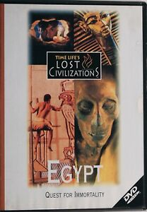 Egypt Quest For Immortality DVD - Documentary - Free Post