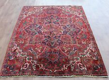 Traditional Vintage Wool Handmade Classic Oriental Area Rug Carpet 244 X 160 cm