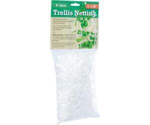 "Trellis Netting 6"" Mesh, woven, 5'x 30'"