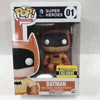 Funko Pop Television #01 Super Heros Batman Vinyl Figure Entertainment Earth NIB