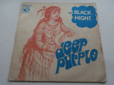 Disque Vinyle 45 tours HARD ROCK DEEP PURPLE BLACK NIGHT