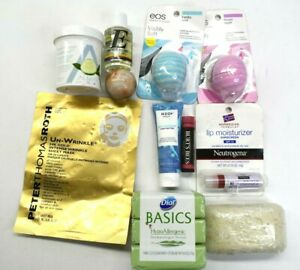 Skincare Items Lot Various Brands & Products Lip Care, Soap, Face Mask Lot of 10