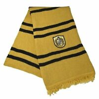 Hufflepuff Striped Accessory Gift Harry Potter Newt Scamander Costume Wool Scarf