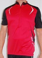 Cycling Bike Jersey Sport  Black Red Mens Unisex M L XL