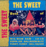 SWEET - Best of ultra rare unique Hungary issue CD Pop Classic / Euroton S/S