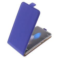 Funda para Huawei P9 Lite protectora Teléfono Móvil con Tapa Carcasa Azul