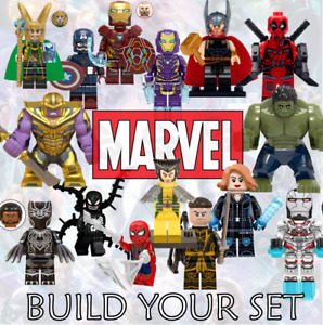 MARVEL DC CUSTOM MINI FIGURES AVENGERS SUPERHERO STAR WARS SPIDERMAN HULK THOR