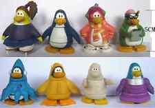 "Lot of 8 Club Penguin JAKKS 1.9"" PVC FIGURES C"