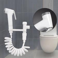 Home Toilet Shattaf Adapter Spray Handheld Bidet Shower Head Wall Bracket Hose