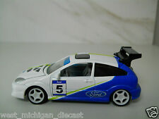 2003 Ford Focus Rally Car # 5 By Johnny Lightning 1/64 Scale