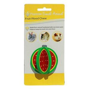 Premier Small Animal Watermelon Wood Chew for Rabbits, Rats & Guinea Pigs **