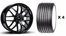 """18"""" B DTM Llantas De Aleación + Neumáticos se ajusta Land Rover Freelander Descubrimiento Sport"""