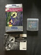 SEGA Game Gear Spiel - Castle of Illusion starring Mickey Mouse mit OVP