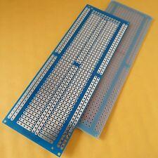 3x pcb 4.8x13.3cm FR4 Streifenraster Veroboard Lochraster Platine Leiterplatte