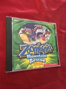 Zoombinis - Mountain Rescue Windows CD - Ships Fast Same Day
