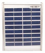 5 piece 3w 6V Solar panel for DIY Project And Charging 6 V Battery.