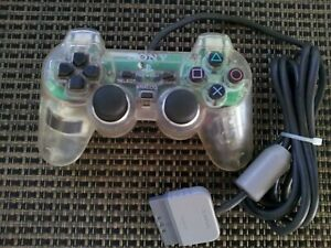 Official PS2 Clear Dualshock 2 Controller OEM Original Sony PlayStation 2
