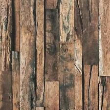 Reclaimed Wood Contact Paper Decor Peel and Stick Wallpaper Self Adhesive Film3D